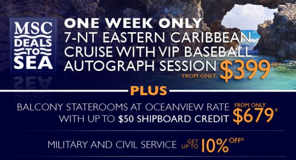 MSC Cruise Special